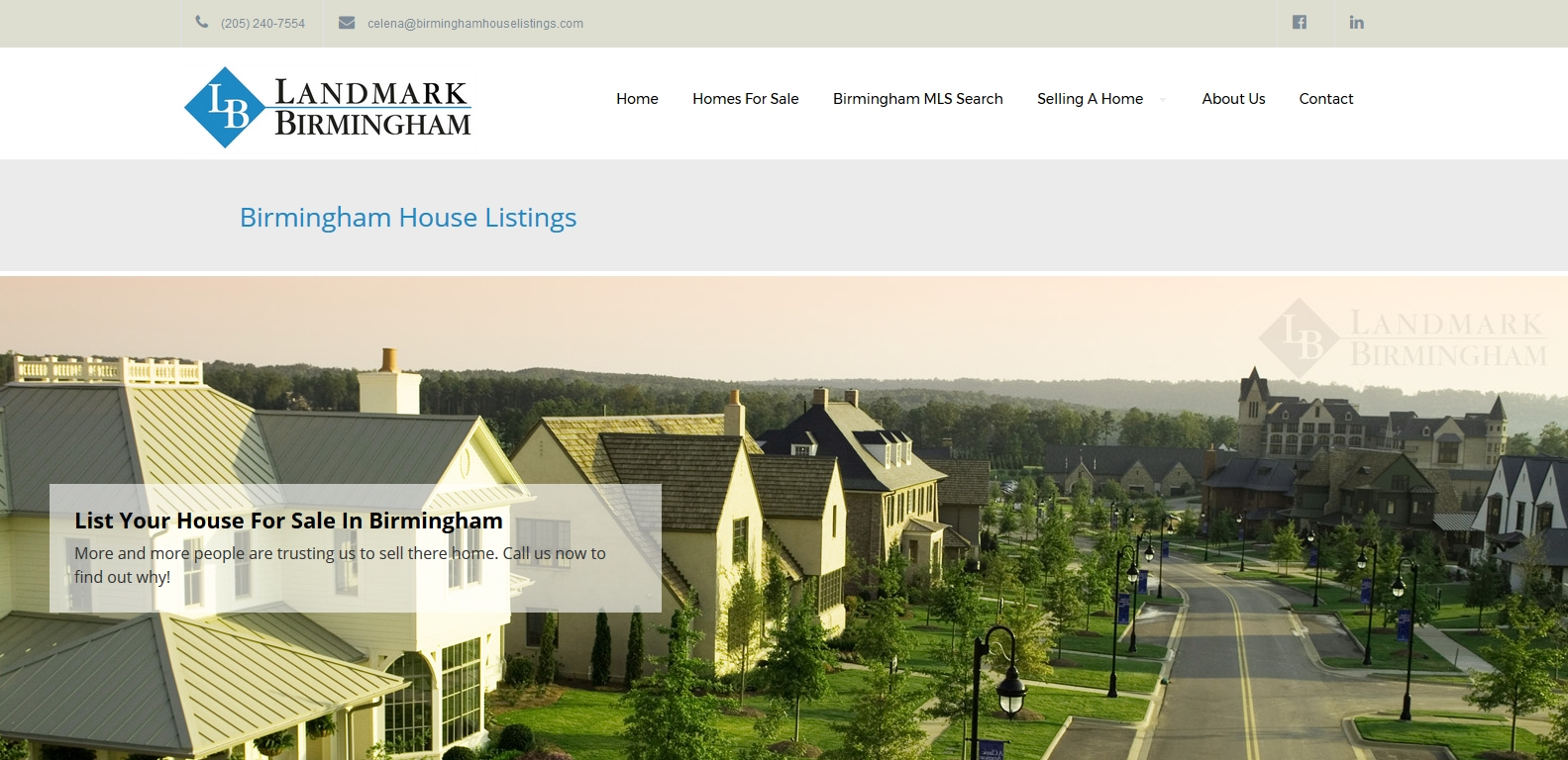 real estate agency web development